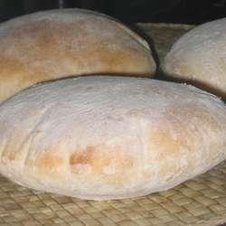 Receta de Pan árabe 2