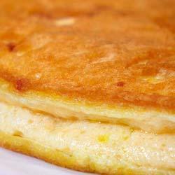 Tortilla soufflé de queso