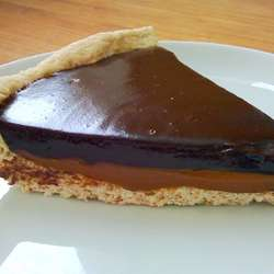 Receta de Tarta de Dulce de Leche y Chocolate