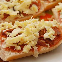 Receta de Pizza de pan