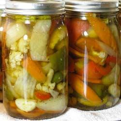 Receta de Pickles 2