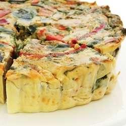 Receta de Tarta de hortalizas
