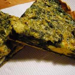 Receta de Tarta de Espinaca