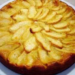 Torta de manzana super fácil