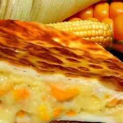 Tarta de Choclo con Salsa Blanca