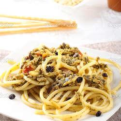 Receta de Pasta con sardinas e hinojo
