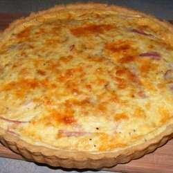 Receta de Tarta de jamón y queso