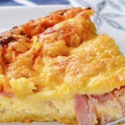 Receta de Pascualina de jamón y queso