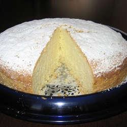Torta fácil de vainilla