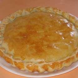 Receta de Pastel de queso y berenjenas
